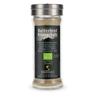 ButterbrotKönigsSalz im GlasStreuer 80g aus k.b.A.