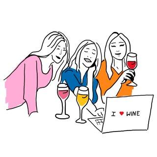 Virtuelle Weinverkostung mit je 4 Weinen für Ihren Haushalt
